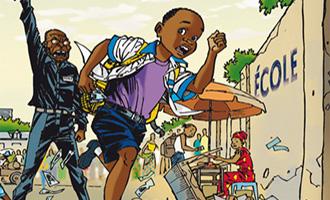 Mbote Kinshasa, Article 15 de Sébastien Maitre et Kash chez la boîte à bulles