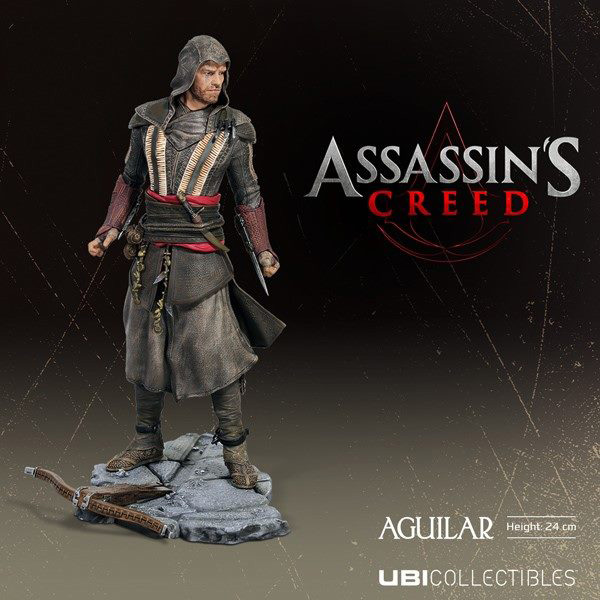 Assassin's Creed : Ubisoft dévoile les figurines Ubicollectibles issues du film