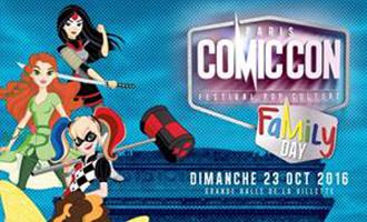 Comic Con Paris 2016 présente le Family Day