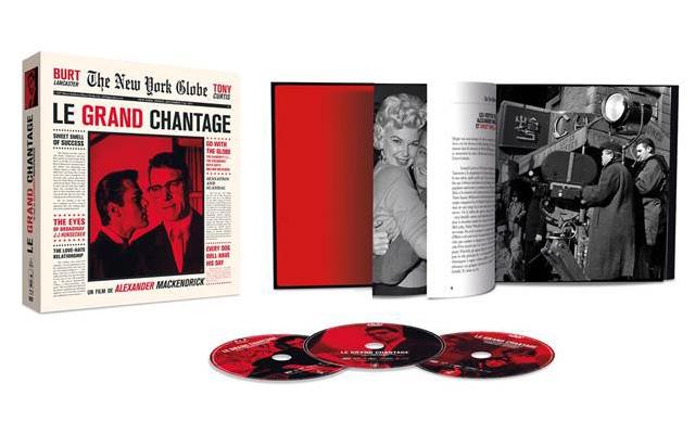 Le grand chantage avec Burt Lancaster et Tony Curtis en Blu-ray + 2 DVD + Beau Livre le 30 novembre