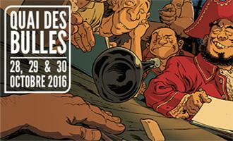 Festival Quai des bulles 2016 à Saint-Malo