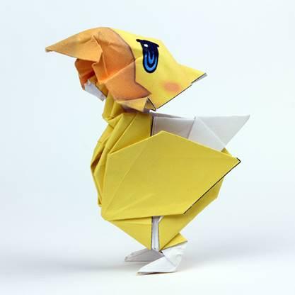 World of Final Fantasy : Les personnages et myrages prennent vie sous forme d'origamis