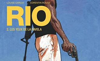 Rio - Tome 2 de Louise Garcia et Corentin Rouge chez Glénat