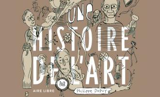 Une histoire de l'art de Philippe Dupuy chez Dupuis