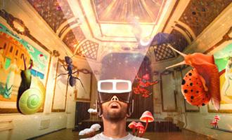 VRrOOm Sanctum Theatre cinematic VR experience