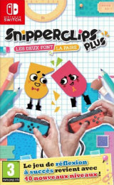 Snipperclips Plus – Les deux font la paire : On ne déchire plus, on coupe !