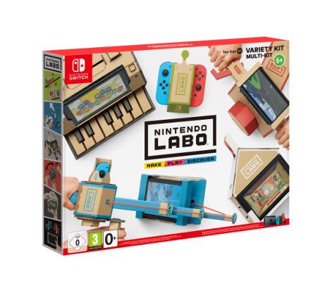nintendo labo construire jouer et d couvrir gr ce la nintendo switch switch maxoe. Black Bedroom Furniture Sets. Home Design Ideas